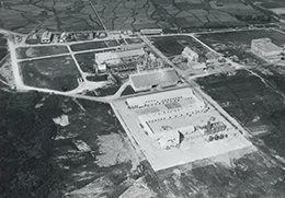 早月工場の初期のキャスト工場